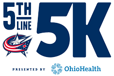 The 5th Line 5K Race presented by OhioHealth logo