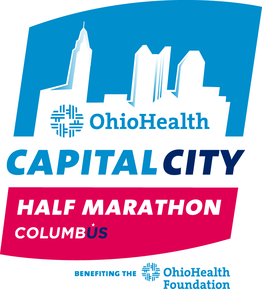 Virtual OhioHealth Capital City Half & Quarter Marathon logo